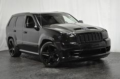 This is sweet ! Srt8 Jeep, Mopar Jeep, Jeep Dodge, Used Jeep, Jeep Grand Cherokee Srt, Badass Jeep, Black Jeep, Luxury Suv, Jeep Life