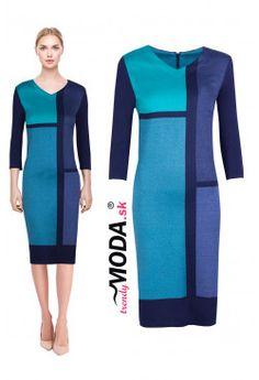 Úpletove šaty ZS24 Dresses For Work, Fashion, Moda, Fashion Styles, Fashion Illustrations