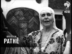 Camera Interviews - Queen Marie Of Rumania, At Home (1934) - YouTube
