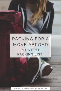 One of the hardest parts of moving abroad is packing. But worth it for your new, simpler life abroad. Here's my best tips on packing for a move abroad! Packing To Move, Packing List For Travel, Packing Tips, Time Travel, Traveling Tips, Moving List, Seattle Travel Guide, Moving To Barcelona, New York City