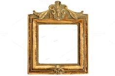 Check out Vintage style antique golden frame by LiliGraphie on Creative Market