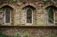 Windows and bays.
