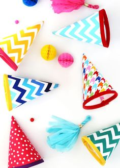 Fabric Party Hat Tutorial | better off thread…