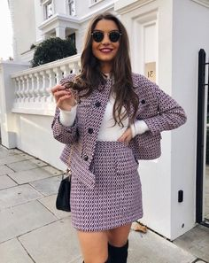 59 Fashion Trends To Wear Today - Work Outfits Women Blazer Outfits For Women, Preppy Outfits, Mode Outfits, Preppy Style, Stylish Outfits, Fashion Outfits, Winter Outfits, Classy Outfits For Women, Looks Chic