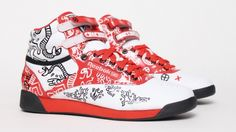 Reebok Freestyle Keith Haring