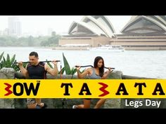 KILLER Bow TABATA Workout (Legs Focus)