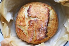 2-HOUR Fastest No Knead Bread - Jenny Can Cook