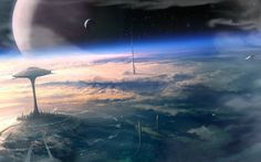 25 Best Far Future Science Fiction Books - The Best Sci Fi Books Future City, Far Future, Future Tech, Best Sci Fi Books, Cyberpunk, Sci Fi Wallpaper, City Wallpaper, Nave Star Wars, Futuristic Art
