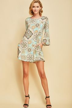 Mint Printed Dress. Panache · Dresses 8d7e675b4