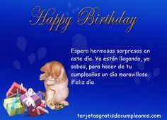 tarjetas de cumpleaños para enviar por facebook