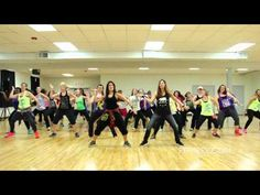 "Bruno Mars ""Runaway Baby"" dance fitness video by REFIT® Revolution - YouTube, 2.5 min."
