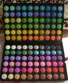 120 Color Eyeshadow Palette - Got it, Love it By cosmetics Sephora Makeup, Makeup Kit, Makeup Inspo, Makeup Cosmetics, Beauty Makeup, Benefit Cosmetics, Bh Cosmetics Palette, Lipstick Palette, Mac Eyeshadow Palette