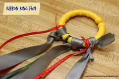Catch Another Butterfly: Ribbon Ring Fun