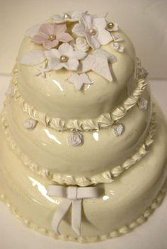 Ceramic Wedding Cake - Jill Maguire Ceramics