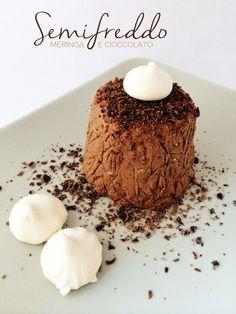 semifreddo meringa e cioccolato