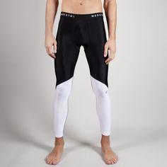 NKMR Performance Tights Black/White #black #white  #tights #brand #fashion #gym # fitness #gymwear #fitnesswear #gymclothes #menswear #sporty #sport #sportswear