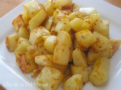 Savory Roasted Potatoes