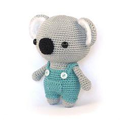 Cute Koala Bear amigurumi pattern by DIY Fluffies