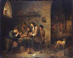 David Teniers - David Teniers II - Smoking School