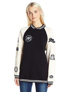 1de842460d OBEY Junior's Far Out Crew Neck Fleece Sweatshirts Online, Hoodies, Adidas  Jacket, Crew