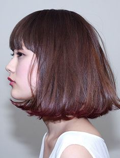 It's time for every girl to have a new hair look. Pretty Hairstyles, Bob Hairstyles, Asian Hairstyles, Japanese Hairstyles, Shaggy Haircuts, Trendy Haircuts, Hairstyle For Chubby Face, Short Hair For Chubby Faces, Medium Hair Styles