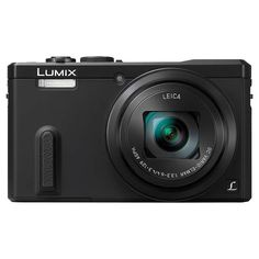 "BuyPanasonic Lumix DMC-TZ60 Digital Camera, HD 1080p, 18.1MP, 30x Optical Zoom, Wi-Fi, NFC, GPS & GLONASS, EVF, 3"" Screen, Black Online at johnlewis.com"
