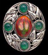 Rosebud Brooch - Arts and Crafts