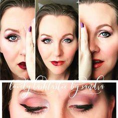 Nighttime  vs daytime  makeup from my Facebook Live today.  #makeup #cosmetics #lashes #mascara #younique #love #happy #mom #momof4 #sahm #wahm #fiberlash #joy #blueeyes #aspiringmua #boss #bossbabe #workfromhome #work #business #determination #dreams #goals #driven #lips #powerofmakeup #daytime #nighttime #selfie #fun
