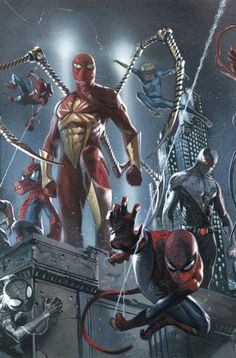 THE FIRST HUGE BATTLE! Wait, if the first fights were just skirmishes, this can't mean anything good for the Spiders. Miles Morales shows his stuff! Silk finds something valuable on her run!Meet the most surprising Spider-Character yet!