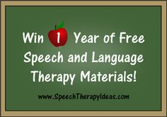 information about speech therapy