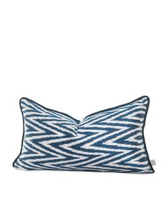 Izmir Throw Pillow by SHINE by S.H.O 159 sapphire velvet back