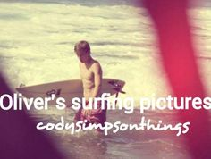 Oliver's surfing pictures