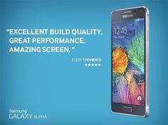#Samsung #GalaxyAlpha .. So what do you think of the ultra-slim Samsung Galaxy Alpha ?  http://imobileface.com/samsung/