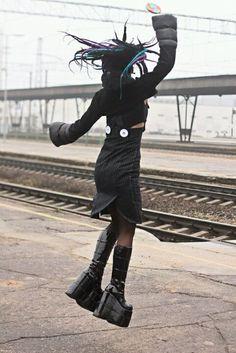 NEW Various Designs LIME Neon UV Fashion Webbing BELT Goths Punks Skaters