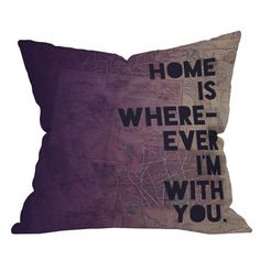 Purple - Home is Where-Ever I'm With You! #purple #home #decor #love #couple