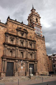 Iglesia de Nuestra Señora de los Ángeles de Chelva. Tuejar Valencia.España.