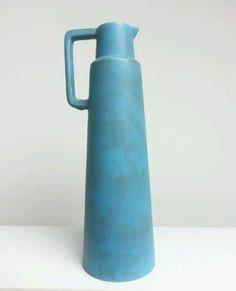Ceramano-205-Hans-Welling-Vase-34cm-Germany-60er-Jahre-Vintage-Keramik