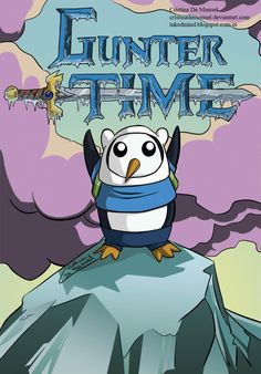 I hope that the makers of Adventure Time make little mini episodes with Gunter as one of the main characters. Marceline, Cartoon Network, Cadena Cartoon, Abenteuerzeit Mit Finn Und Jake, Finn Jake, Adveture Time, Land Of Ooo, Finn The Human, Bravest Warriors