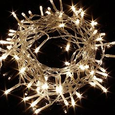iSolem 10M 100 Waterproof LED fairy string lights Warm White perfect for CHRISTMAS TREE LIGHTS, BIRTHDAY, Xmas, PARTY,WEDDING indoor & outdoor: Amazon.co.uk: Lighting