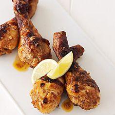 Julie Biuso's Recipes - Spicy chicken drumsticks