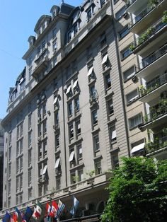 Alvear Palace Hotel  Opening: 1928 - Buenos Aires