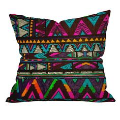 Kris Tate Huipil 1 Throw Pillow