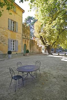 Chateau La Canorgue, Bonnieux (Provence, France), in the Luberon Valley.  (Where the movie _A Good Year_ was filmed)
