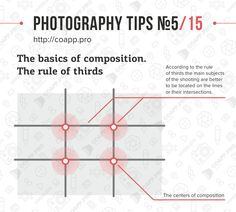 Photography Tips Basics of Composition and Rule of Thirds No. 5 / 15