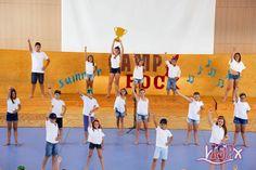 Grabaciones de las tablas de baile del #CampRockISP. #SummerCampISP 17