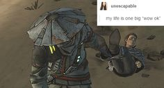 tales from the borderlands Rhys Borderlands, Borderlands Series, Tales From The Borderlands, Tiny Tina, Handsome Jack, Video Game Art, Geek Culture, Dragon Age, Nerdy