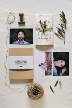 Inspire Wedding | Italian Garden | wedding invite invitation inspiration photo save the dates twine herbs twigs