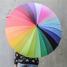 Şemsiye Gökkuşağı - 79 TL l #semsiye #rengarenk #gokkusagi