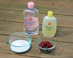 baby body scrub