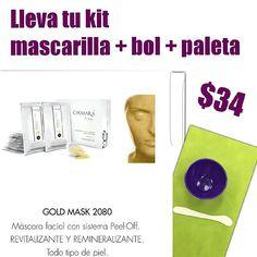 Máscara facial formulada a base de polvo de Oro de 24k, minerales y extracto de algas marinas. Una combinación de activos que hacen de GOLD MASK una máscara única. El polvo de Oro de 24K proporciona un efecto tensor sobre rostro y cuello, así mismo favorece la acción de los minerales de intensa acción nutritiva y revitalizante. Las algas marinas aportan a GOLD MASK un intenso poder hidratante. #Esteticafacial #GoldMask #Casmara #Salinas #5%Descuento #algaepeeloff #Original #montereylocals…